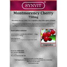 Montmorency Cherry 750mg